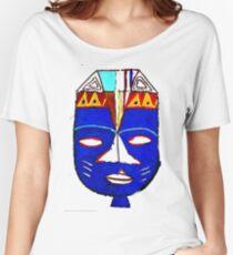 Blue Mask by Josh 2 T-Shirt Women's Relaxed Fit T-Shirt