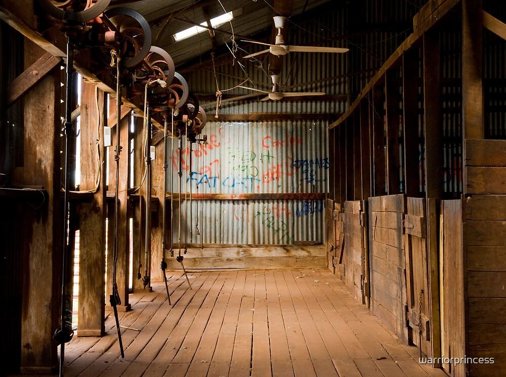 Shearing Shed - Edah Station by warriorprincess