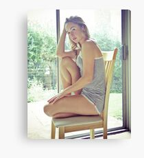 Tina-Grey-3 Canvas Print