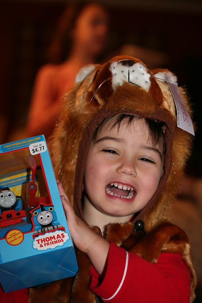 He was so happy this Christmas gift made him cry by Steve  Meader