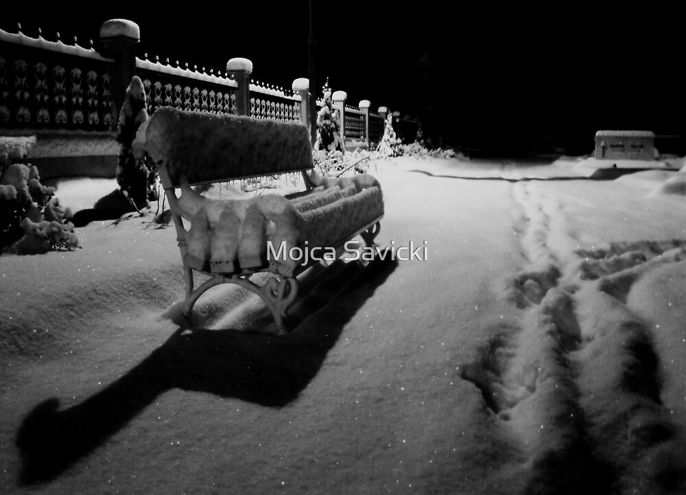 Under The Fresh Powder by Mojca Savicki