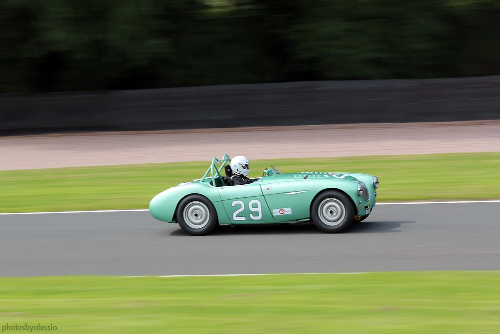 Classic Racer at Oulton Park by PhotosByAlessio