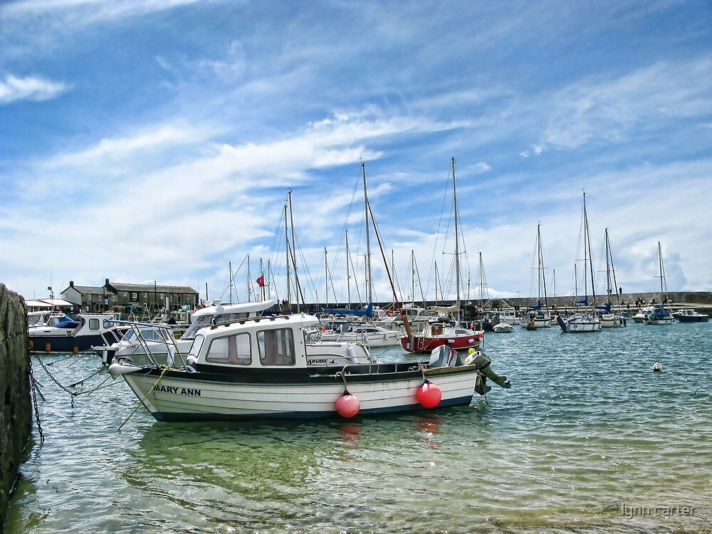 Mary Ann In The Harbour by lynn carter
