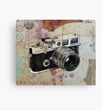 the rangefinder Canvas Print
