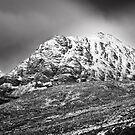 Meall Dearg mountain at Glencoe, Scotland by Gabor Pozsgai
