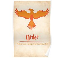 Harry Potter and the Order of the Phoenix Print Poster