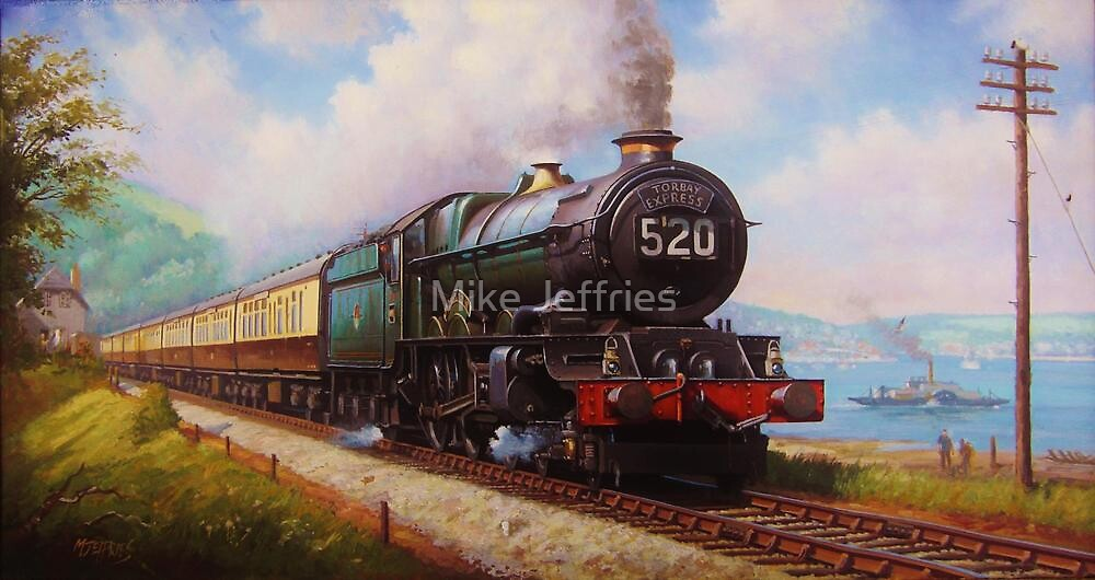 The Torbay Express by Mike Jeffries