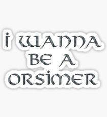 Orsimer Text Only Sticker