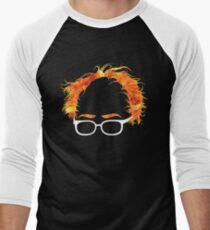 Flaming Bernie Shirt - #Feelthebern Men's Baseball ¾ T-Shirt