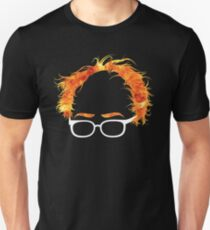 Flaming Bernie Shirt - #Feelthebern Unisex T-Shirt