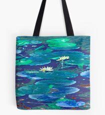 Water Lilies #1e Tote Bag