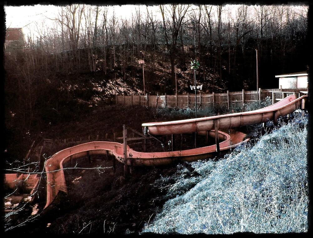 Water Slide Days Gone By by Paul Lubaczewski