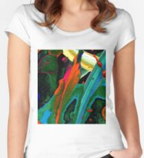 Under The Sea T-Shirt Women's Fitted Scoop T-Shirt