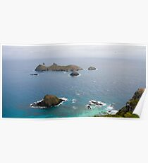 Admiralty Islets - Lord Howe Island Poster