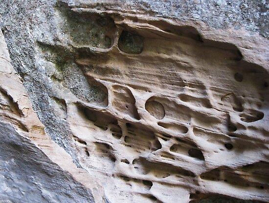 Sandstone Story by Dietrich Pfeifer