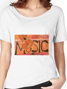 We Just Love Music T-Shirt Women's Relaxed Fit T-Shirt