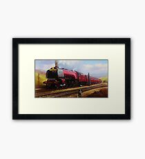 Stanier pacific on Shap Framed Print