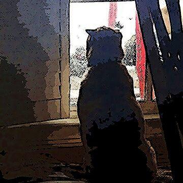 WINDOW WATCHING by gaelcee