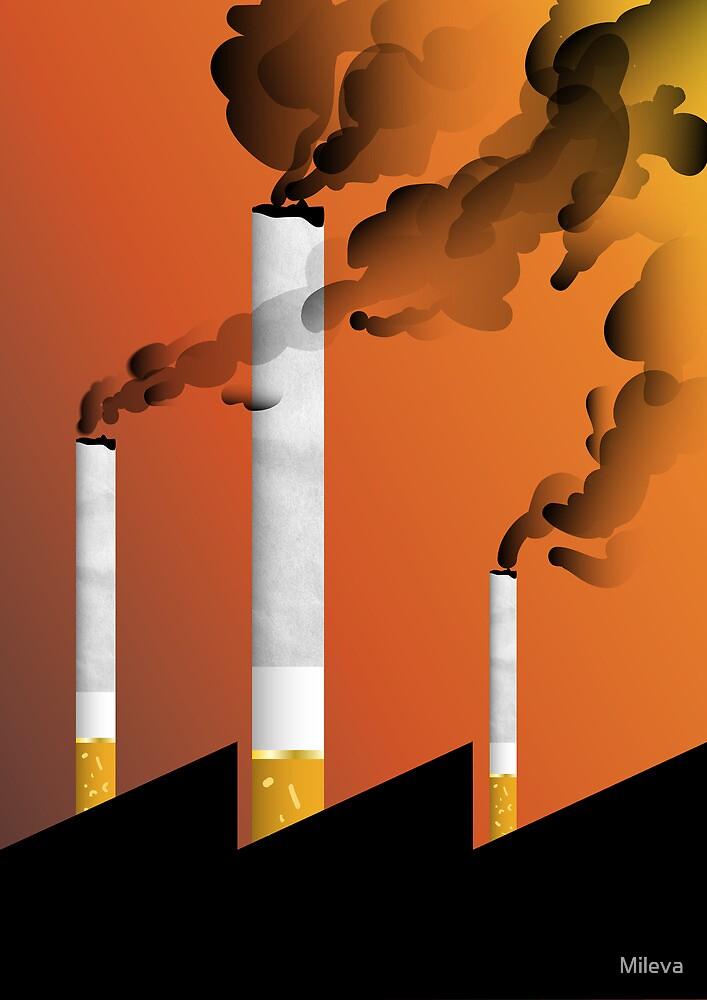 Smoke factory by Mileva