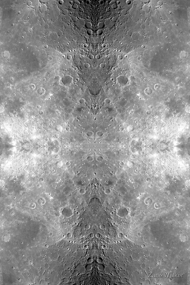 Symmetrical Moon by Zane Walker