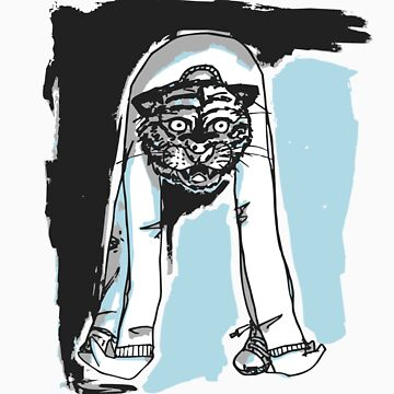 Demon Tiger Man by CursedHand
