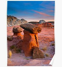 Brokentop Hoodoo Sunset Poster