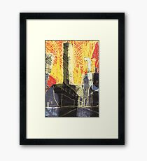 Industrial location Framed Print