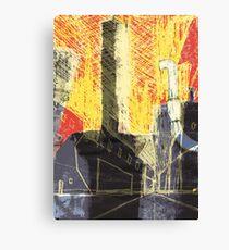 Industrial location Canvas Print