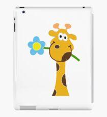 FLOWER GIRAFFE iPad Case/Skin