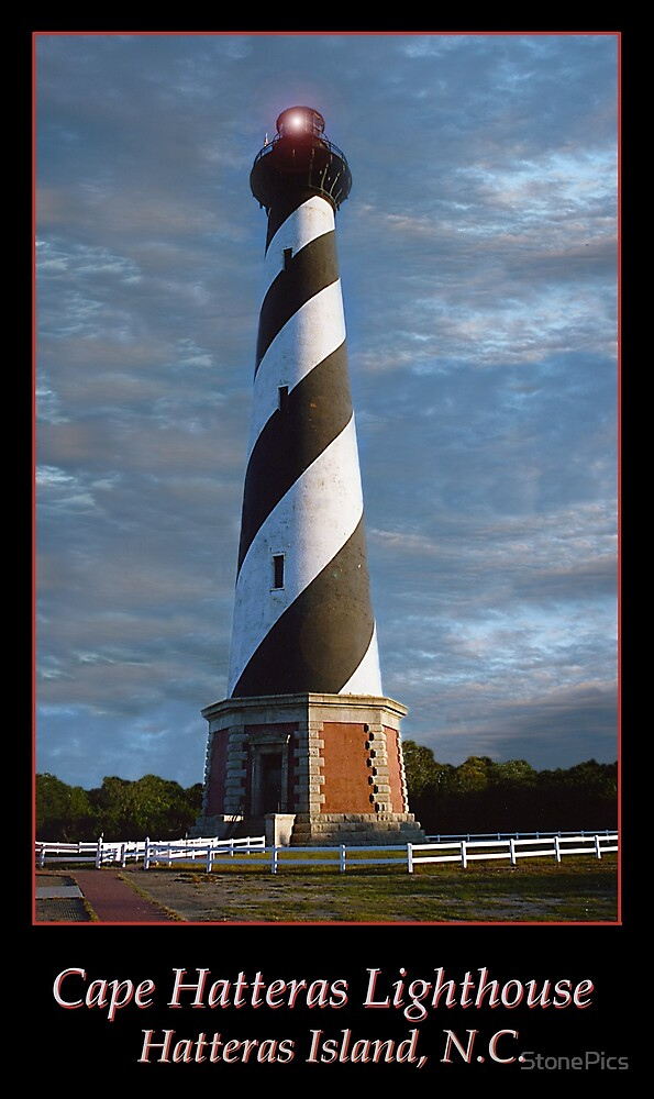 Cape Hatteras Lighthouse by StonePics
