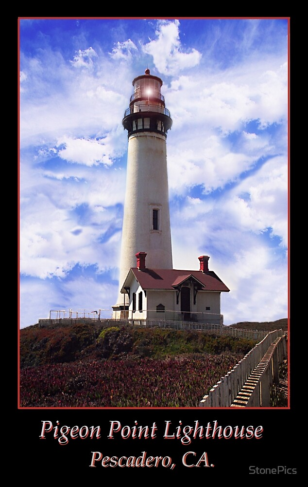 Pigeon Point Lighthouse by StonePics