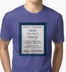 Police Box Tri-blend T-Shirt