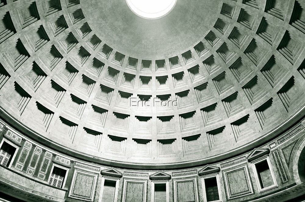 Pantheon - Rome, IT by Eric Ford