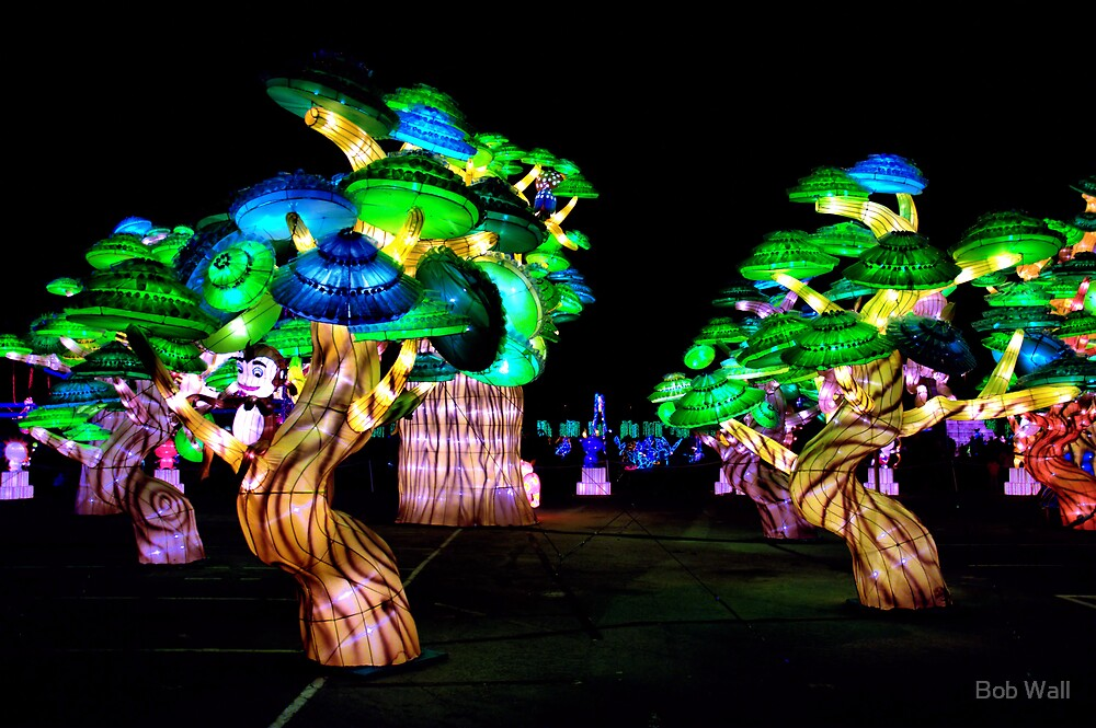 A Forest of Lanterns by Bob Wall