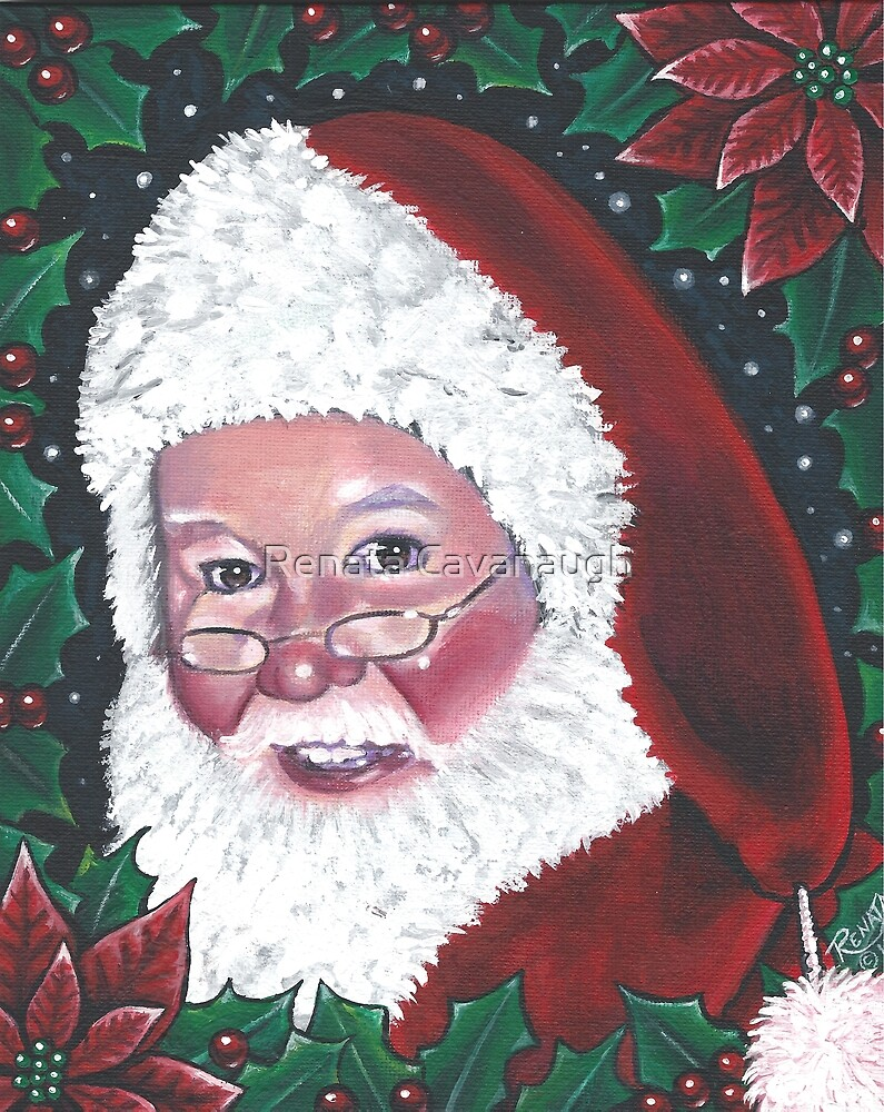 Santa by Renata Cavanaugh