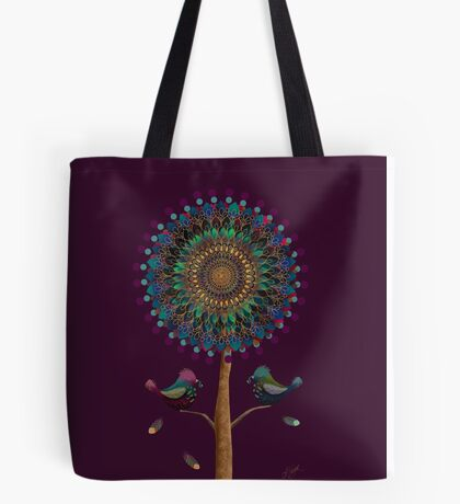 The Mandala Tree Tote Bag