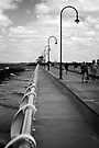 St Kilda Pier by Vince Russell