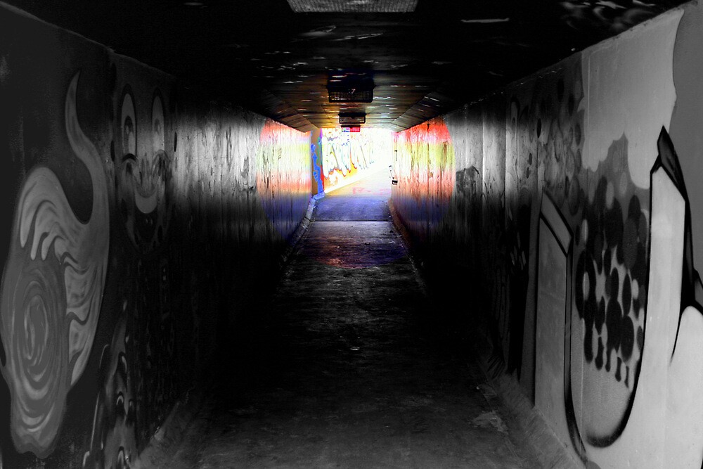 Urban underpass by Nigel Butfield
