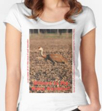 Where is my Rose Garden? Women's Fitted Scoop T-Shirt