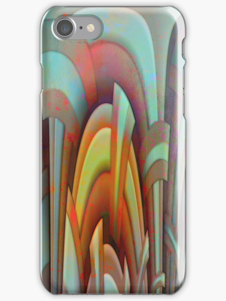 Caustic Rainbows_I Phone Case by Diane Johnson-Mosley