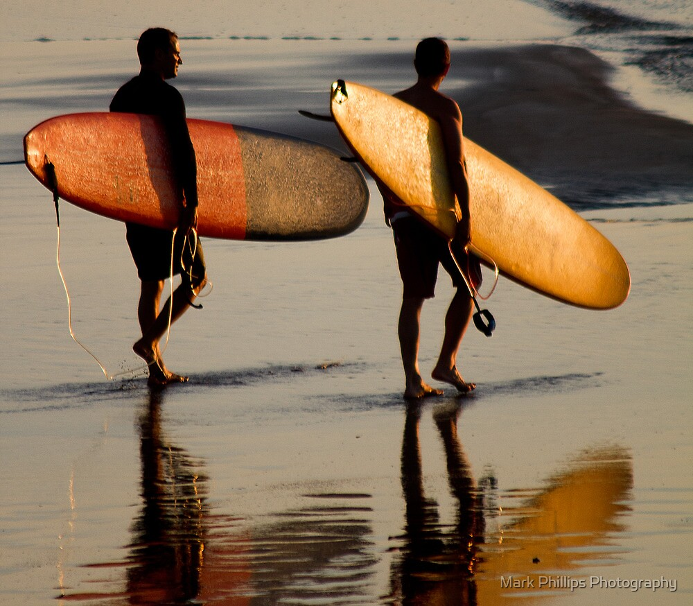 Lembongan Surfers by Mark Phillips Photography