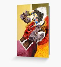 Bright Nomad Greeting Card
