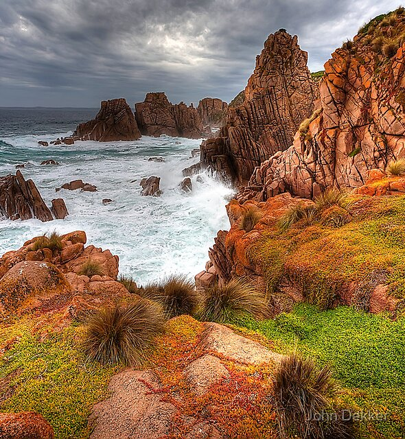 Coastal Color by John Dekker