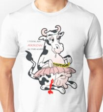 crazy cow Unisex T-Shirt