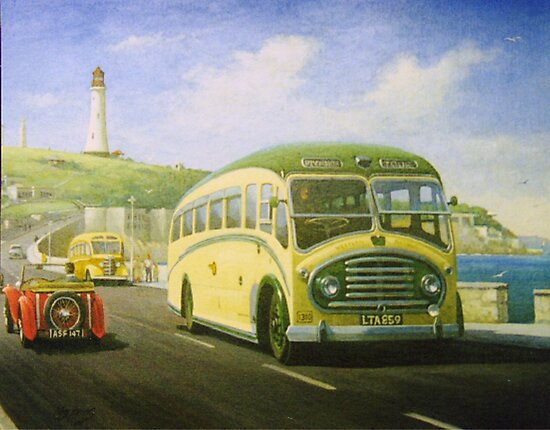 Bristol L on Plymouth Hoe by Mike Jeffries