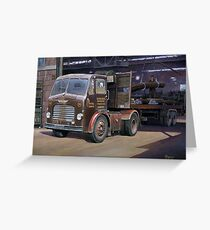 Leyland Beaver artic Greeting Card