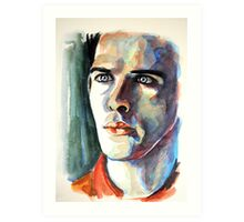 Colin Morgan, featured in Painters Universe Art Print