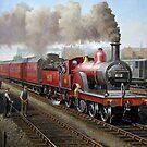 Midland Railway Single 1896 by Mike Jeffries
