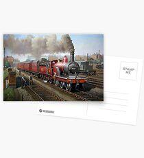 Midland Railway Single 1896 Postcards