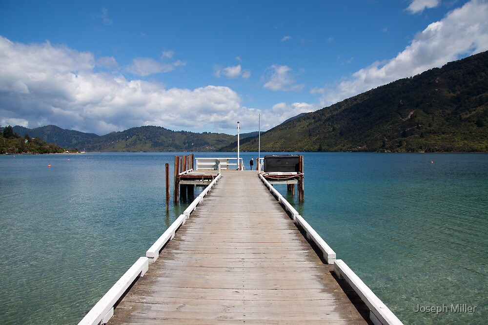 Furneaux Lodge Jetty by Joseph Miller